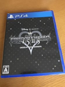 『KINGDOM HEARTS -HD 1.5+2.5 ReMIX-』届きました。