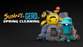 【今日観た動画】可愛いロボが魅力的!カナダのアーティストDaCosta Bayley氏による短編『Sunny and Gerd in Spring Cleaning』