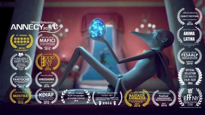 【今日観た動画】エクアドルのショートフィルム『MR BLUE FOOTED BOOBY』