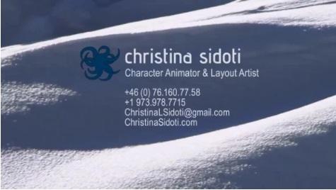 【今日観た動画】キャラクターアニメーター Christina Sidoti氏のアニメーションリール