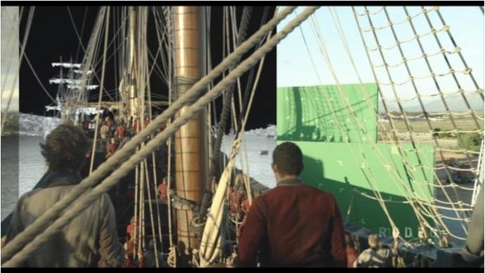 【今日観た動画】『Black Sails/ブラック・セイルズ』シーズン4のVFXブレイクダウン